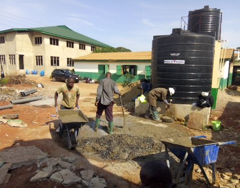 Biogas Training Pictures from Ashaiman Secondary School